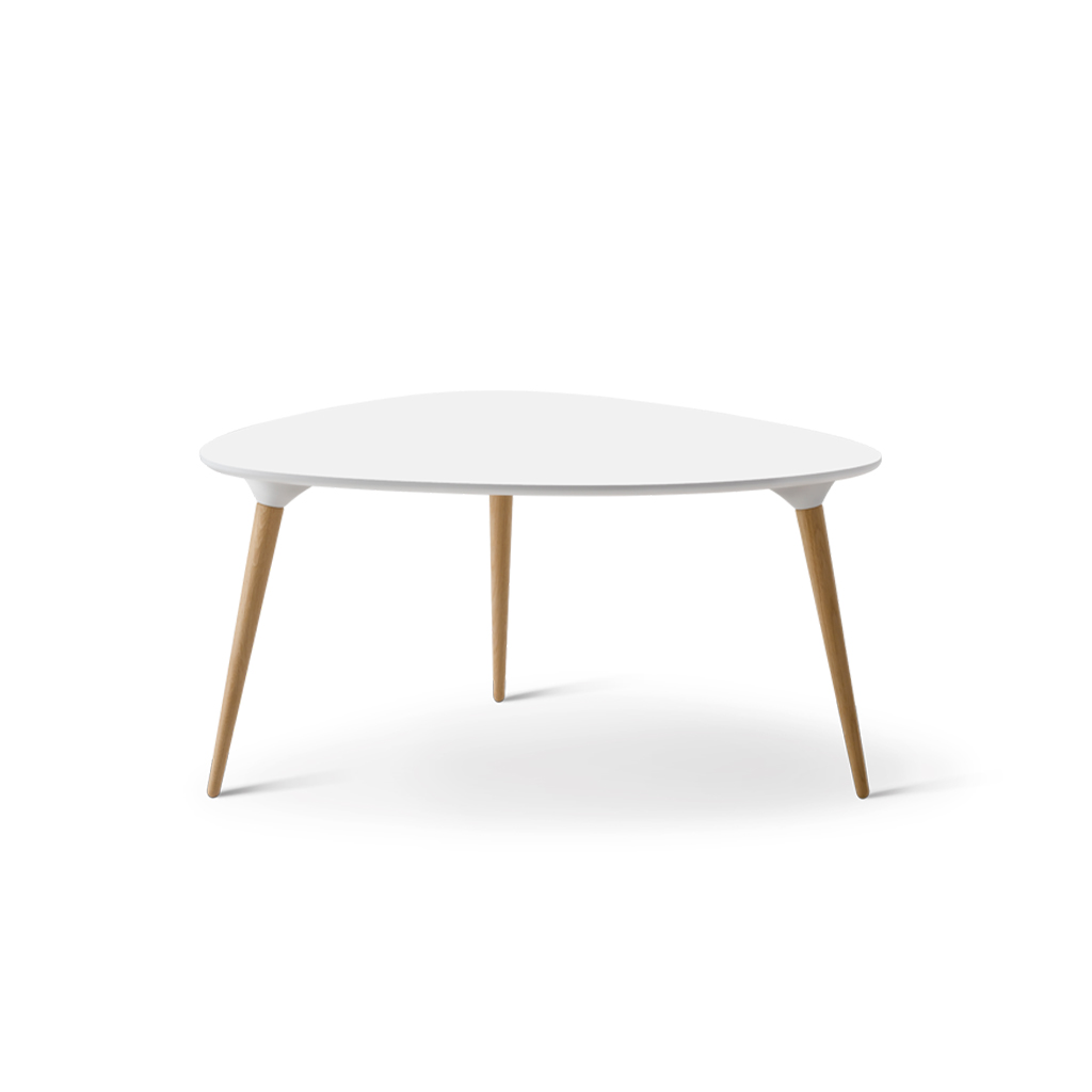 Icicle Coffee Table Ø50 White